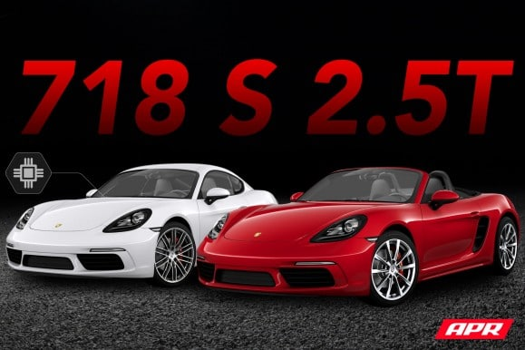 Porsche 718 S Cayman and Boxster APR ECU Tune