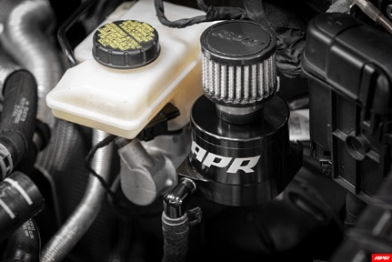 APR DQ500 transmission catch can install