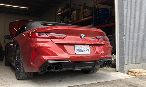 M8 Competition Rear End